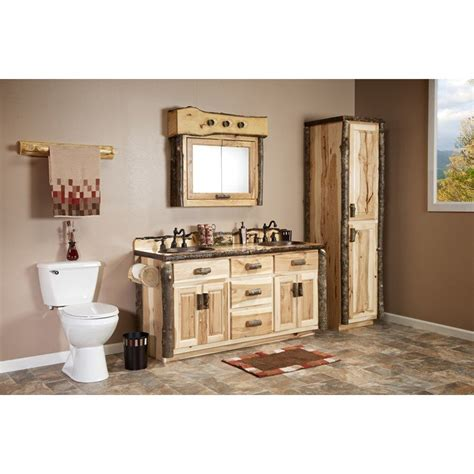 Hickory Medicine Cabinet by Real Hickory Rustic Medicine Cabinet Made From Solid Wood