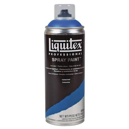 Liquitex  Professional Spray Paint  Turquoise Walmartcom