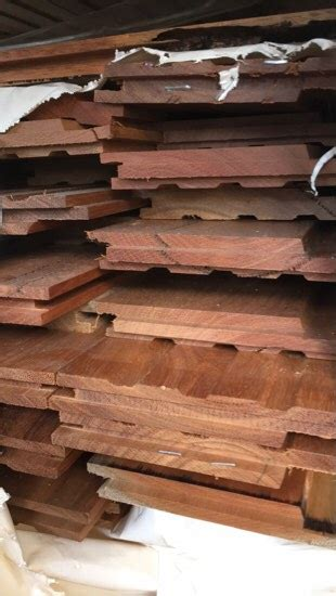 Spotted Gum Shiplap by 125x19 Spotted Gum Feature Grade Shiplap Cladding Pack