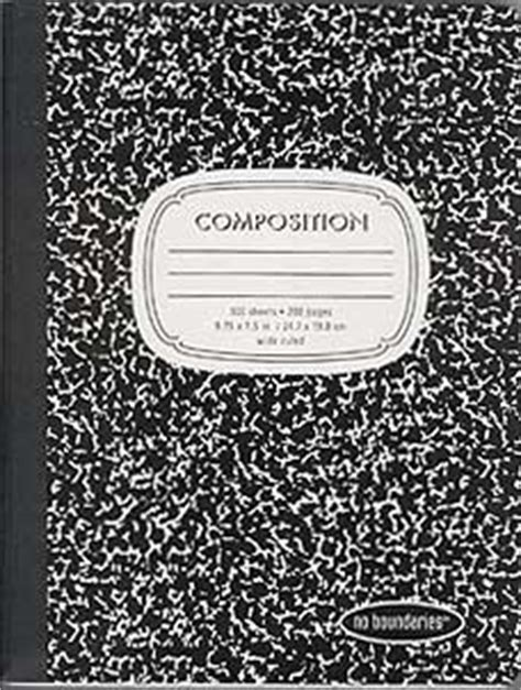 Compsotion Notebook Template by How To Cover Composition Books Go Make Something