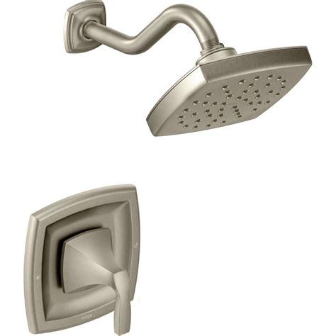 moen kitchen faucet moen t3692bn voss brushed nickel one handle shower only