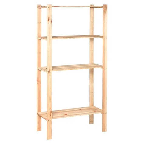 scaffali obi obi scaffale da montare in legno 170 cm x 85 cm x 40 cm