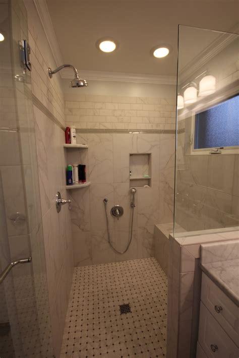 custom designed shower stall  bath remodeling center llc
