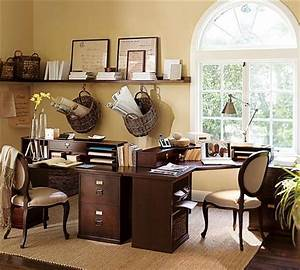 10 simple awesome office decorating ideas listovative With ideas for home office decor