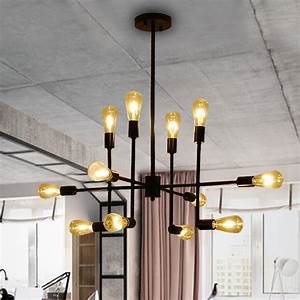 vintage pendant lamp nordic retro restaurant dining room With lamp to light up entire room