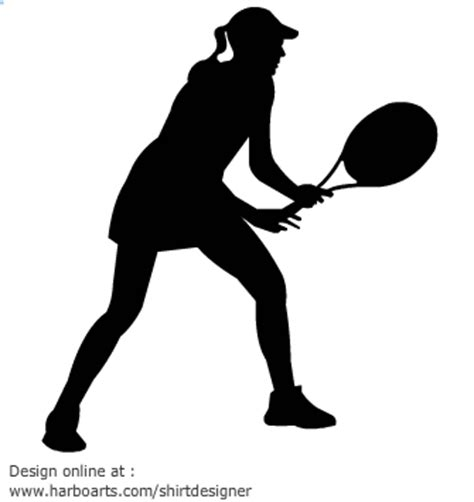 tennis player clipart black and white free tennis clipart pictures clipartix