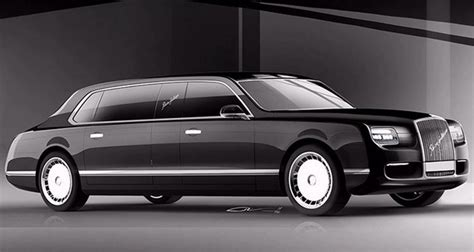New Limousine Car by Putin Launch Car Wars With New Limousines Daily Sabah