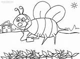 Bee Coloring Bumble Pages Bees Template Colouring Printable Sheets Busy Honeycomb Coloringpagesfortoddlers Templates Cool2bkids Animal Beehive Cut Getcolorings Popular sketch template