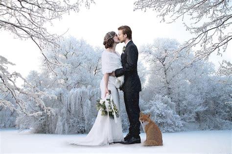 quand faire les photos de mariage un mariage en hiver