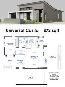 universal casita house plan 61custom contemporary modern house plans