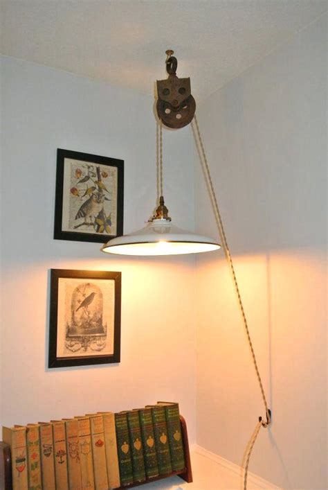 pendant lights wall plug that into outlet in light cord