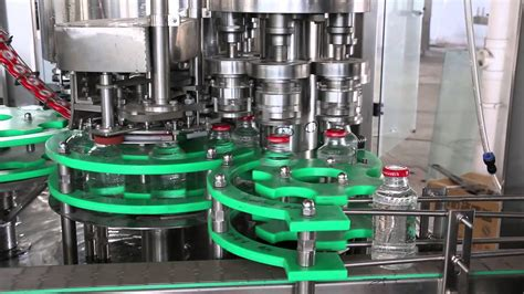 glass bottle filling machine youtube