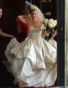 most memorable carrie bradshaw outfits With sex and the city wedding dress