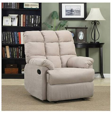 armchair recliner chair a large microfiber wall hugger non