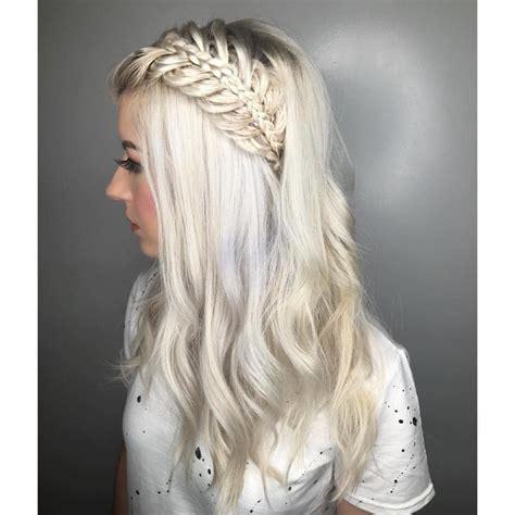 pin  maaike dykstra  hair platinum blonde hair hair