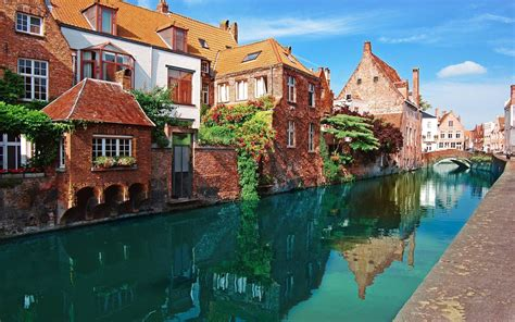 nature city bruges belgium wallpapers hd desktop