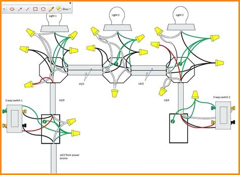 three way switch wiring diagram two lights best site