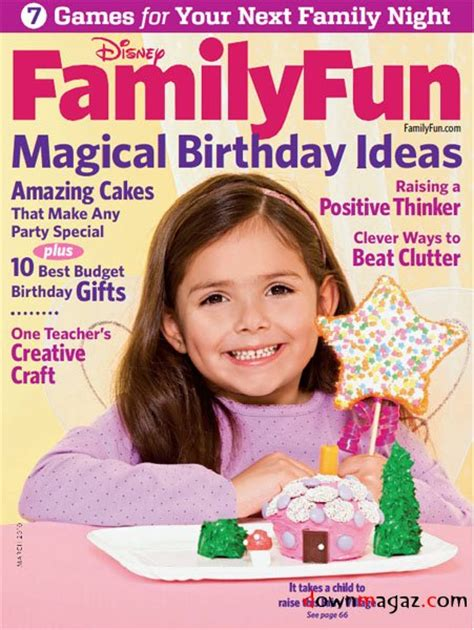 Family Fun Magazine March 2010 » Download Pdf Magazines
