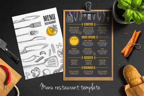 captivating chalkboard menu examples  psd ai eps