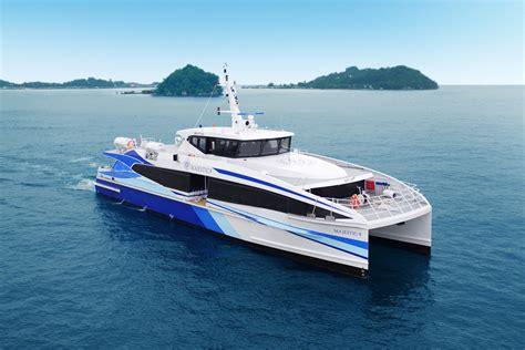 yacht metal incat crowther passenger