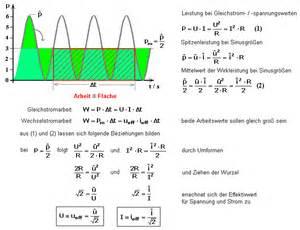 Wirkleistung Berechnen : sinusspannung erzeugung und eigenschaften ~ Themetempest.com Abrechnung