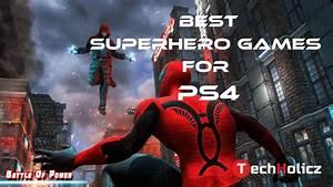10, Best, Superhero, Games, On, Ps4