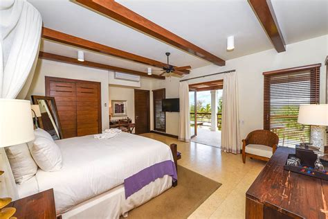 bedroom ocean view villa las verandas