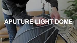 Aputure Light Dome - Unboxing  U0026 Setup Instructions