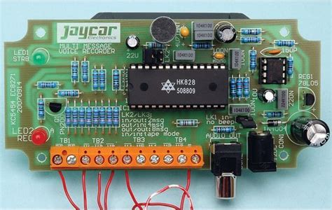 Seconds Voice Recording Circuit With