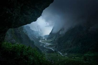 Rain Forest Mountain Nature Landscape River Valley
