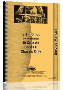Case 40d Excavator Service Manual