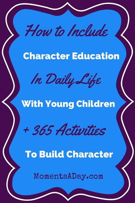 25 best ideas about character education on