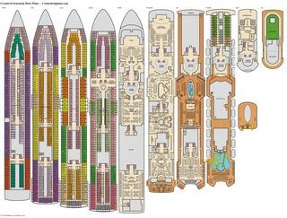 carnival sensation deck plans cabin diagrams pictures