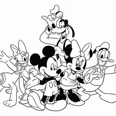Disney Walt Coloring Pages Printable Sheets Source