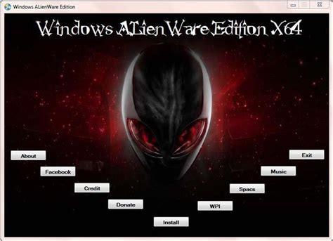 Deadheart Blogs Zone Windows 7 Alienware Edition Sp1 X64
