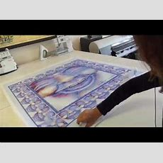 How To Print On Fabric Youtube