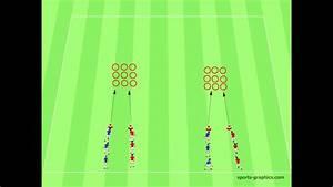 Tic Tac Toe Spiel : fu balltraining mini game tic tac toe antritt wahrnehmung entscheidungsschnelligkeit youtube ~ Orissabook.com Haus und Dekorationen