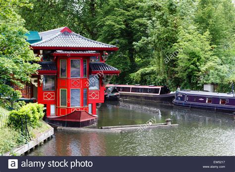 Floating Boat Chinese Restaurant London by Canal London Stock Photos Canal London Stock Images Alamy