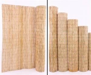 Holzstämme Geschält Kaufen : schilfrohrmatte mit 140x600cm als garten sichtschutz kaufen ~ Orissabook.com Haus und Dekorationen