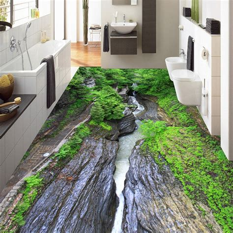custom mural wallpaper  nature landscape floor paintings