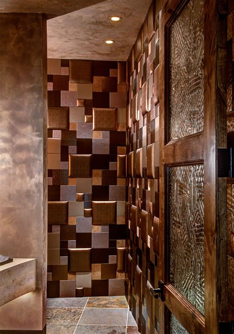 high  rustic powder room project highlights nappatile
