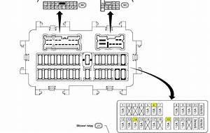 2004 Nissan Altima 25s Fuse Box Diagram