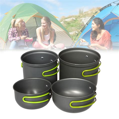 backpacking pot camping hiking cookware pan utensils tableware pots outdoor ultralight picnic 2persons