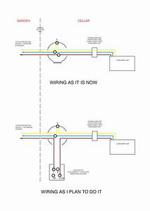 Garden Power  How To Add An Indoor Switch Into Existing Circuit Supplying Garden