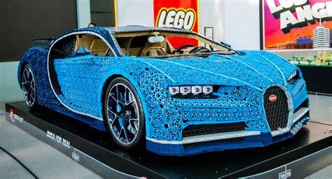 The car also features a rear spoiler and a working. Admit It, You Want To Touch And Drive The LEGO Bugatti Chiron, Don't You?   Carscoops