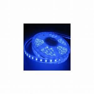Ruban A Led : ruban led bleu 5 m ip68 tanche et immergeable ~ Edinachiropracticcenter.com Idées de Décoration