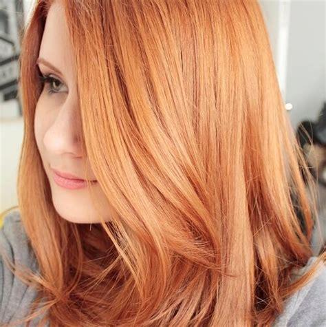 amazing ways  rock copper hair color hair motive