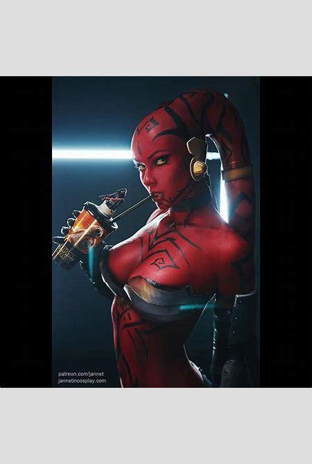 Jannet Vinogradova as Darth Talon (Star Wars) : cosplaygirls