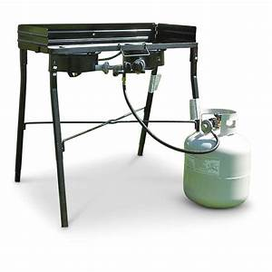 "King Kooker 30"" Portable Double-propane Stove - 581676 ..."