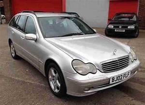 Mercedes C220 Cdi 2002 : 2002 02 mercedes c220 cdi avantgarde automatic diesel estate silver ~ Medecine-chirurgie-esthetiques.com Avis de Voitures